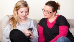Los hijos están preparados para tener una red social es  los padres pueden  supervisarlos.