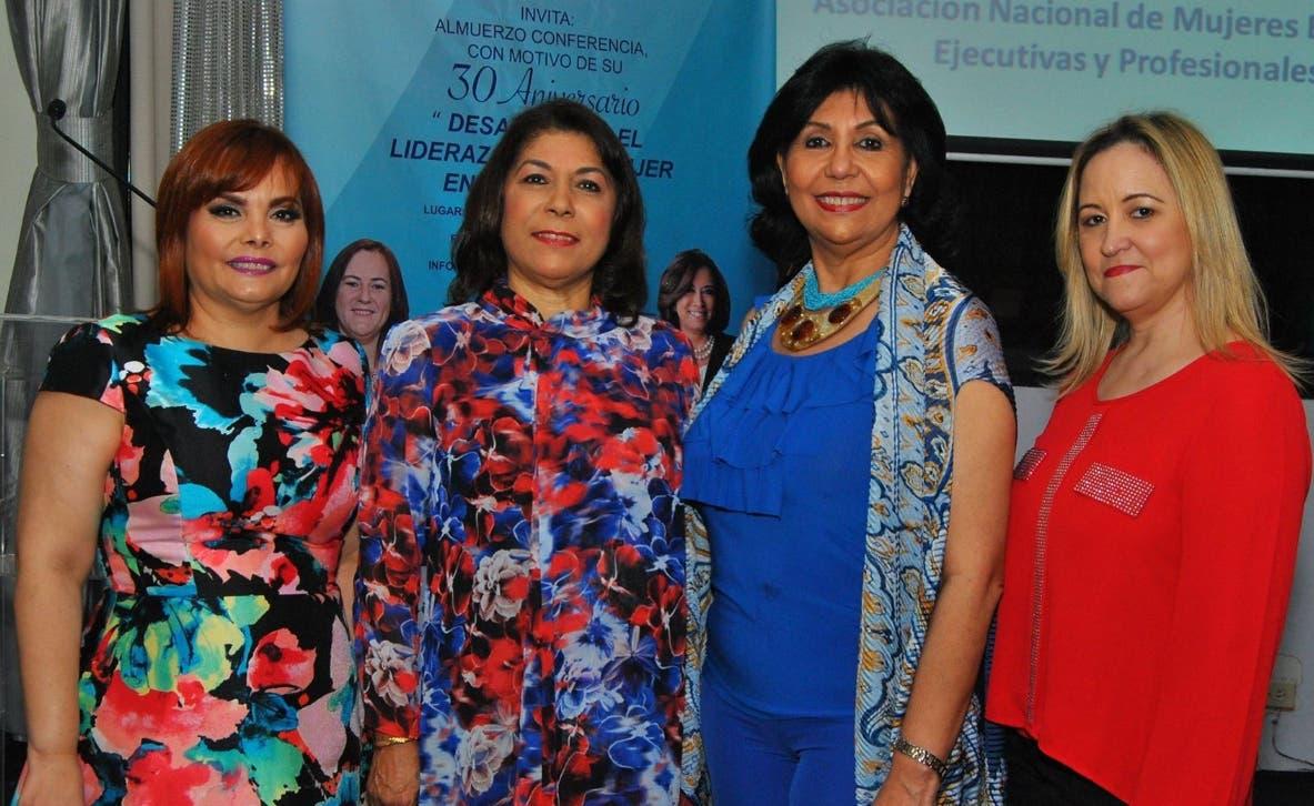 Rommy Grullón, Fior de Ranucoli, Dolly Nin y Emma Rodríguez.