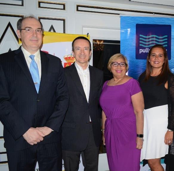 Joaquín de Ramón, José Blanco, Orfila Salazar, Adriana Azpurua y Fausto Fernández.