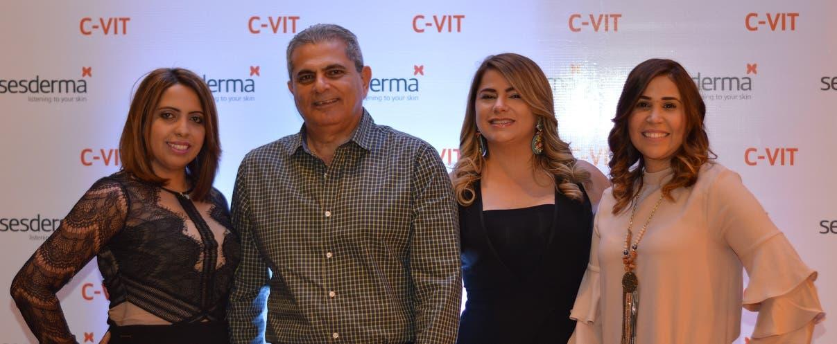 Yomárez Díaz,  Igor Bassa, Mariel Isa y Ámbar Hernández  Malena.
