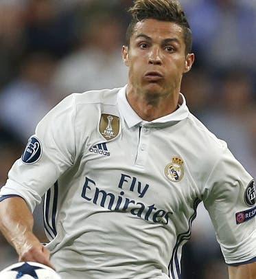 Ronaldo celebra el triunfo.