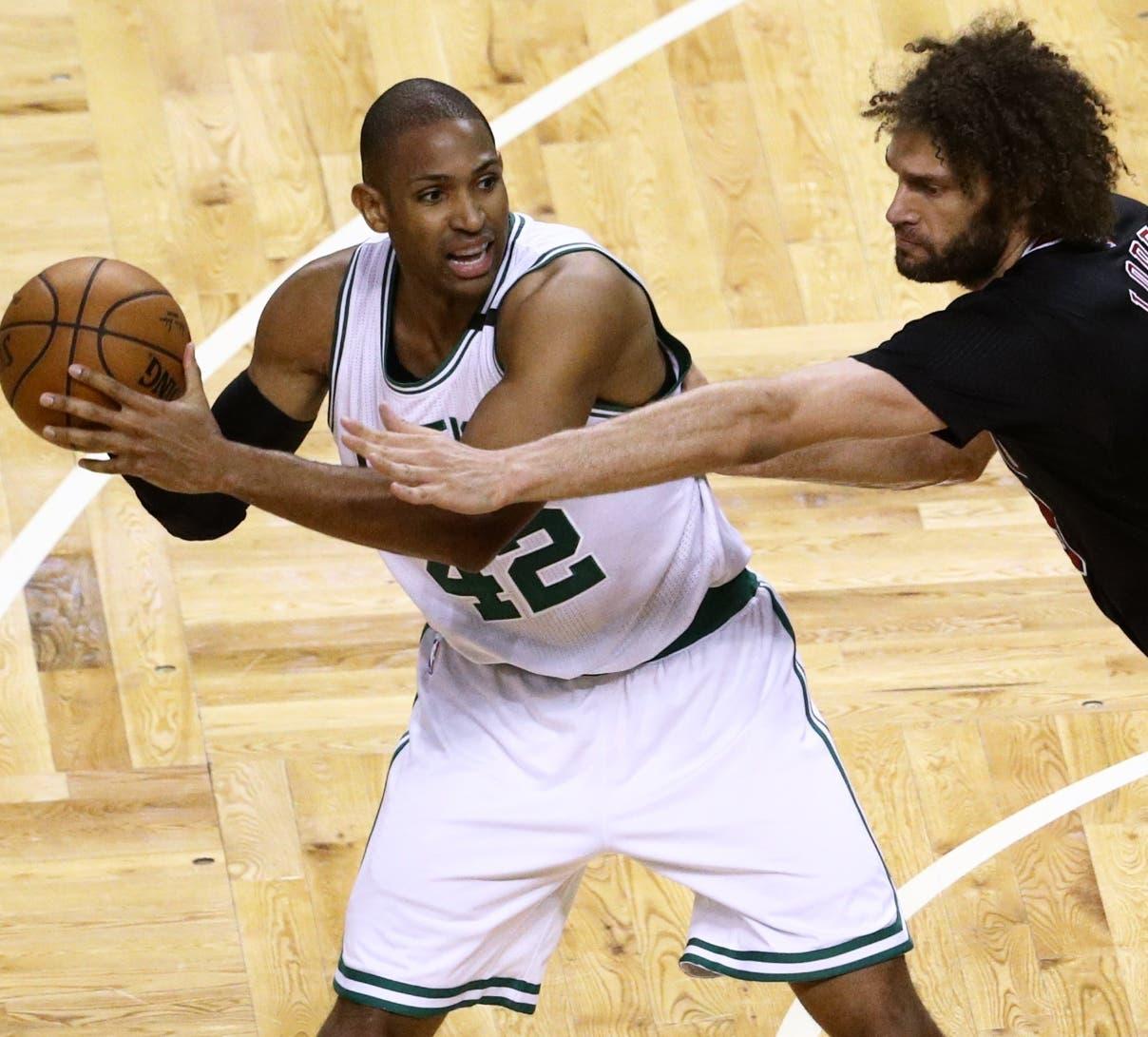 Al Horford piensa que Boston Celtics mejorará a partir del tercer partido en serie Conferencia Este.
