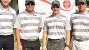 Los ganadores en el torneo de golf Claro celebrado con éxito.