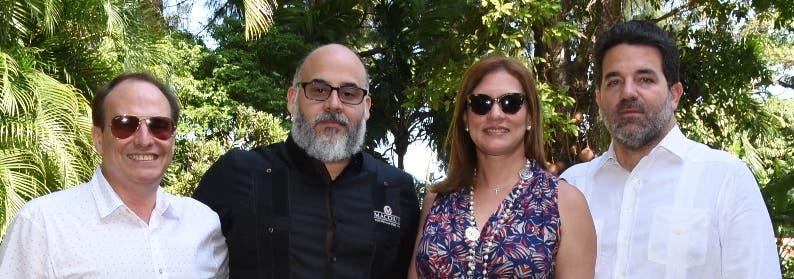 Juan Luis González, Welvis Soto, Patricia Jarp y Alex Báez.