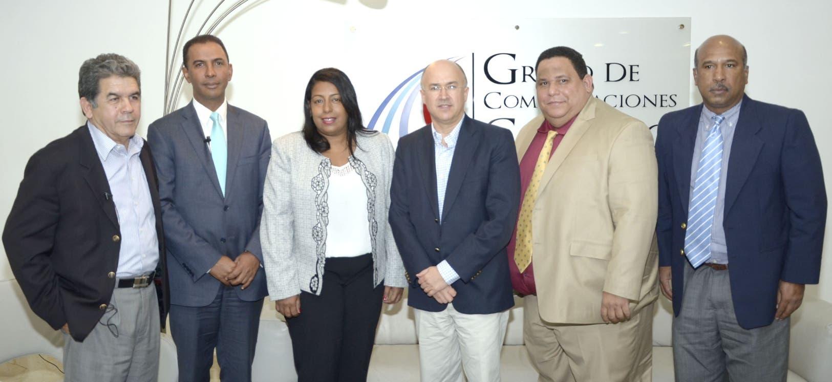 Francisco Flores Chang, Domingo Contreras, Altagracia Tavárez, Francisco Dominguez Brito, Rafael Hidalgo y Onofre Rojas.
