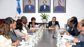 Andrés Navarro encabezó la reunión.