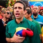 Henrique Capriles, uno de los principales líderes de la MUD, está inhabilitado para participar en las próximas elecciones.