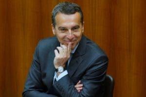 Christian Kern, canciller de Austria. Salario: $330.396 (304.006 euros)