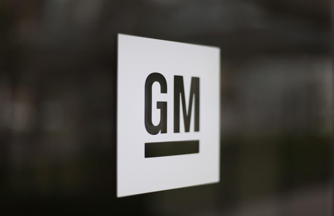 Logotipo de General Motors. Ap