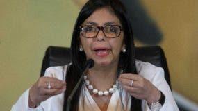 Delcy Rodríguez,  presidenta de la Asamblea Nacional Constituyente. Archivo