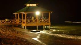 La playa de Guibia fue una de las clausuradas por las autoridades.