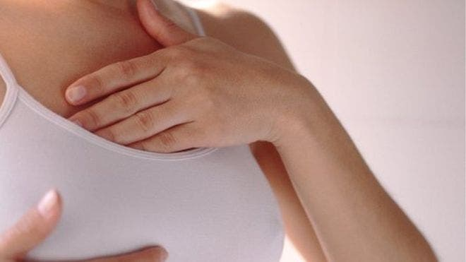 La media de proyección del pezón de la mujer es de 0,9 cm hacia afuera.