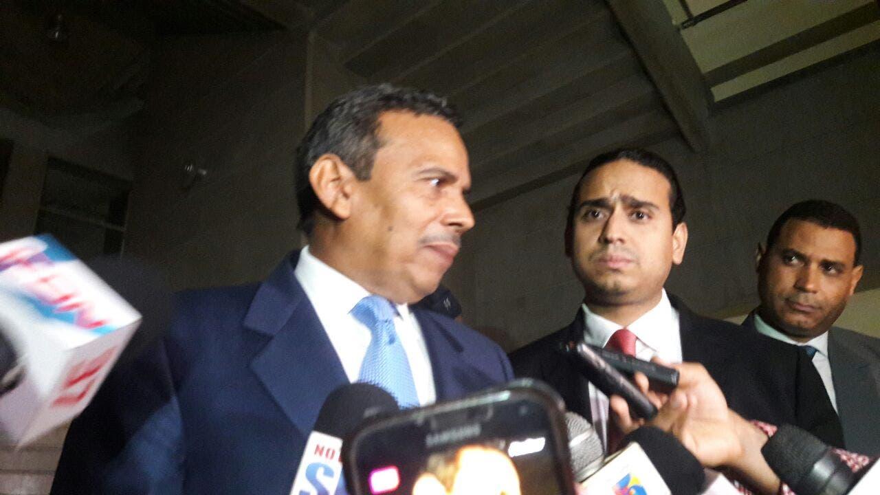 Concluye el interrogatorio a Radhamés Segura en la Procuraduría