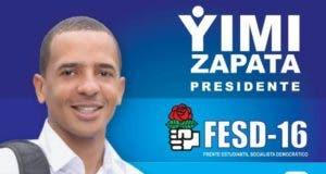 Yimi Zapara gana elecciones estudiantiles en la UASD con un 37.98%.