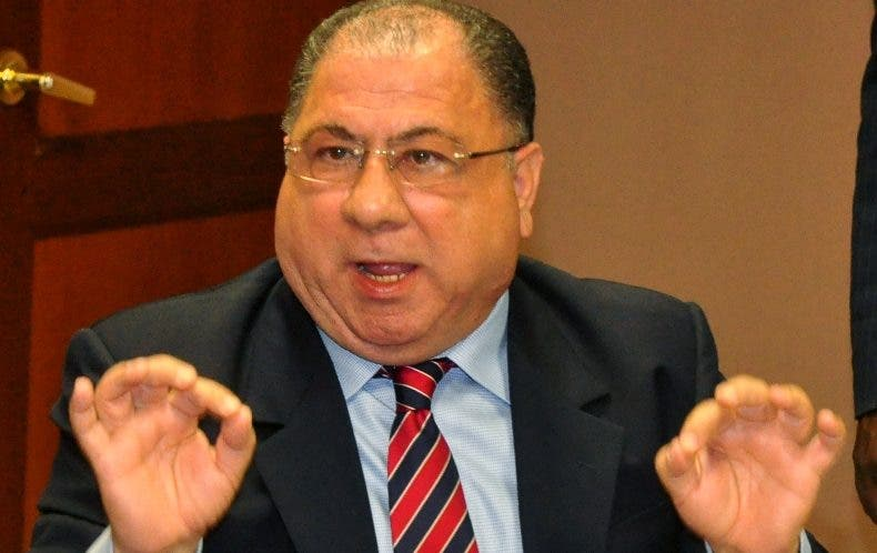 José Ramón Fadul, ministro de Interior y Policía.