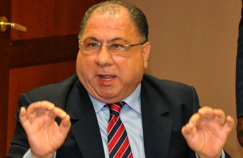 José Ramón Fadul, ministro de Trabajo.