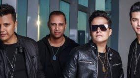 """Axel, Gustavo, José  y Rafael,  del grupo """"Ciudad de Ángeles""""."""