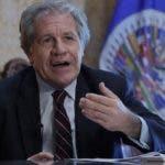 El secretario de la OEA, Luis Almagro.