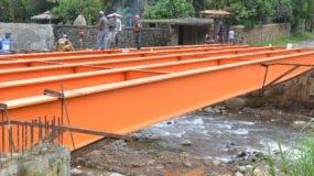 Imagen de estructura vial puesta en marcha vía Obras Públicas.