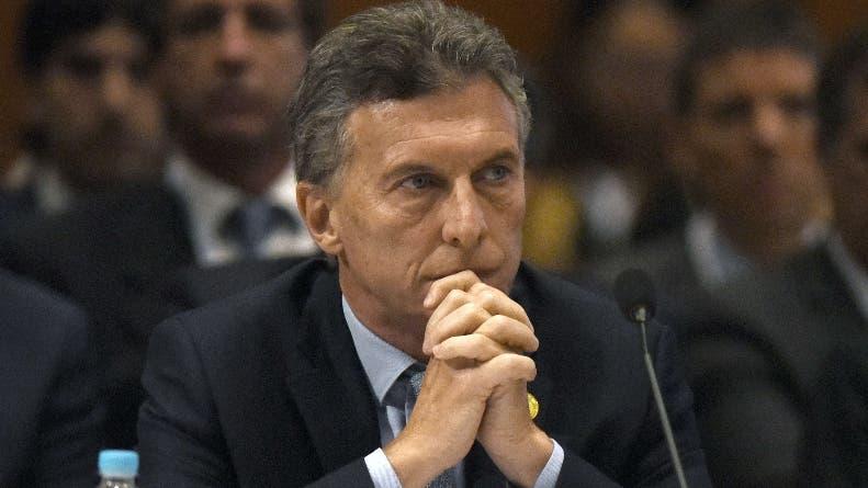 El presidente Mauricio.