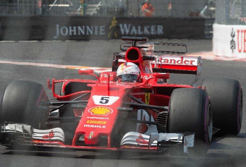 Sebastian Vettel  listo para buscar el título en carrera Mónaco.