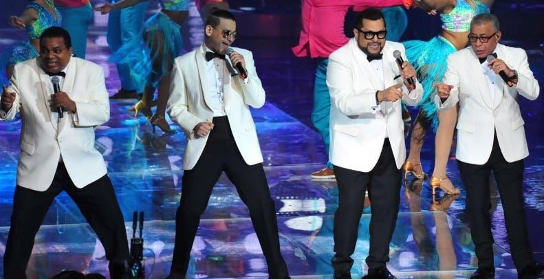 La Coco Band durante su actuación en el Soberano.