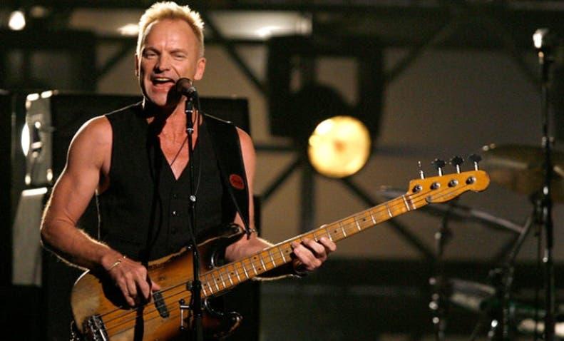 Sting llega mañana a Hard Rock Hotel