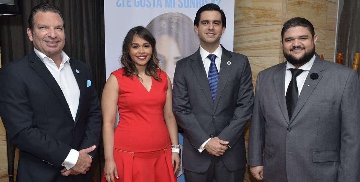 Franklin Ortega, Ana Amelia González, Francisco Martino y  Jonathan Socías.