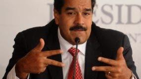 Nicolás Maduro, presidente de Venezuela.