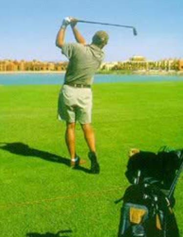 Los golfistas están preparados