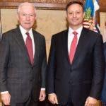 Jeff Session y Jean Alain Rodríguez sostuvieron el miércoles un encuentro en el que abordaron temas de la agenda bilateral.