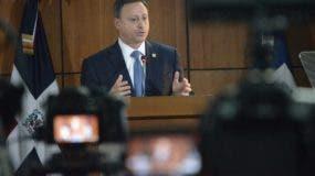 El procurador Jean Alain Rodríguez ofrece detalles de las investigaciones realizadas por autoridades.