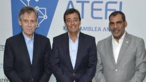 Oscar Castellanos, Edgardo Cortaza y Luis Bencosme.