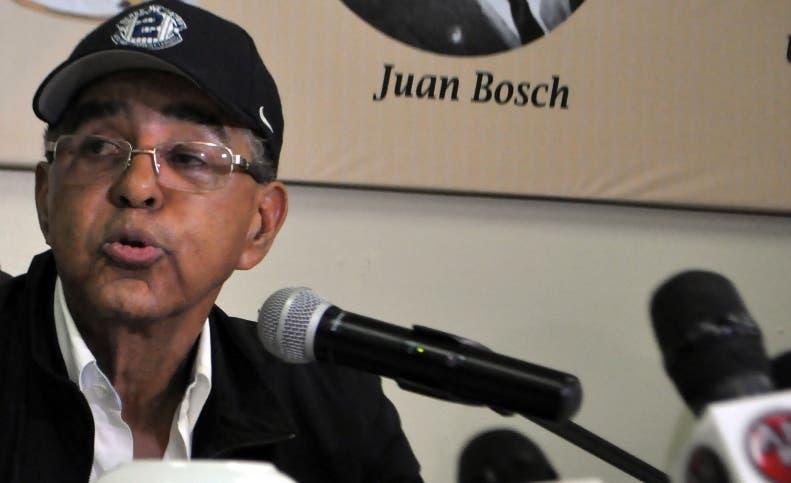 Diandino Peña fue destituido la semana pasada de la Opret.
