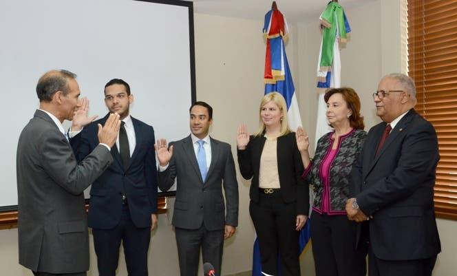CNSS juramentó nuevos integrantes del sector empresarial