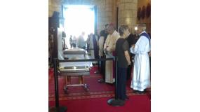isa de cuerpo presente en Catedral Primada de América. Foto tomada de Telenoticias.