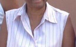 Milagros Fulcar Encarnación, hermana de Roberto y Julio Fulcar, falleció esta madrugada.