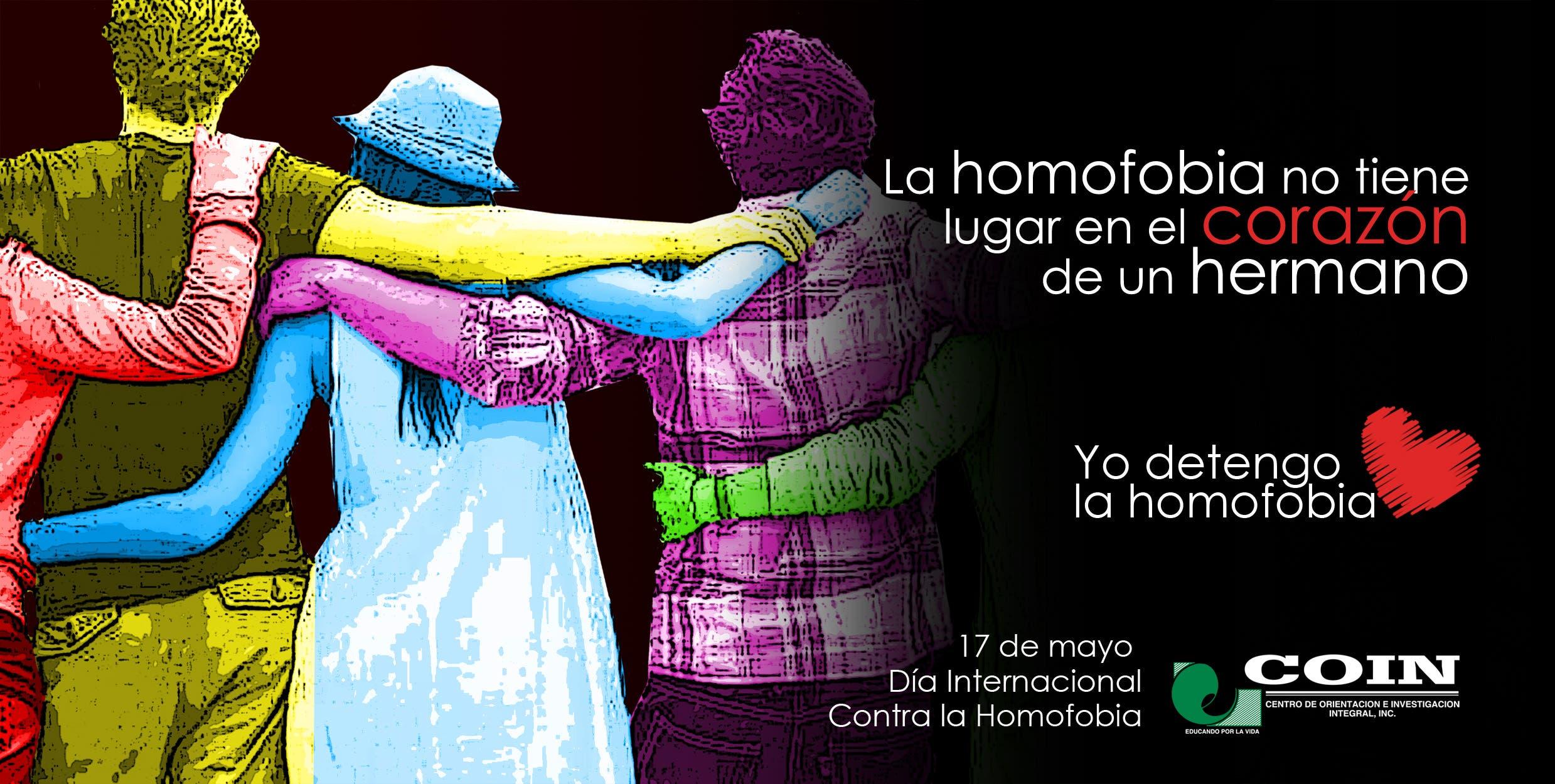 El objetivo  de la campaña es visibilizar el rechazo a  toda forma de expresión de homofobia por parte de familiares, amigos allegados a personas homosexuales.