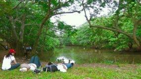 Los humedales del Ozama es un lugar propicio para visitar en familia. Foto: Elieser Tapia/El Día.