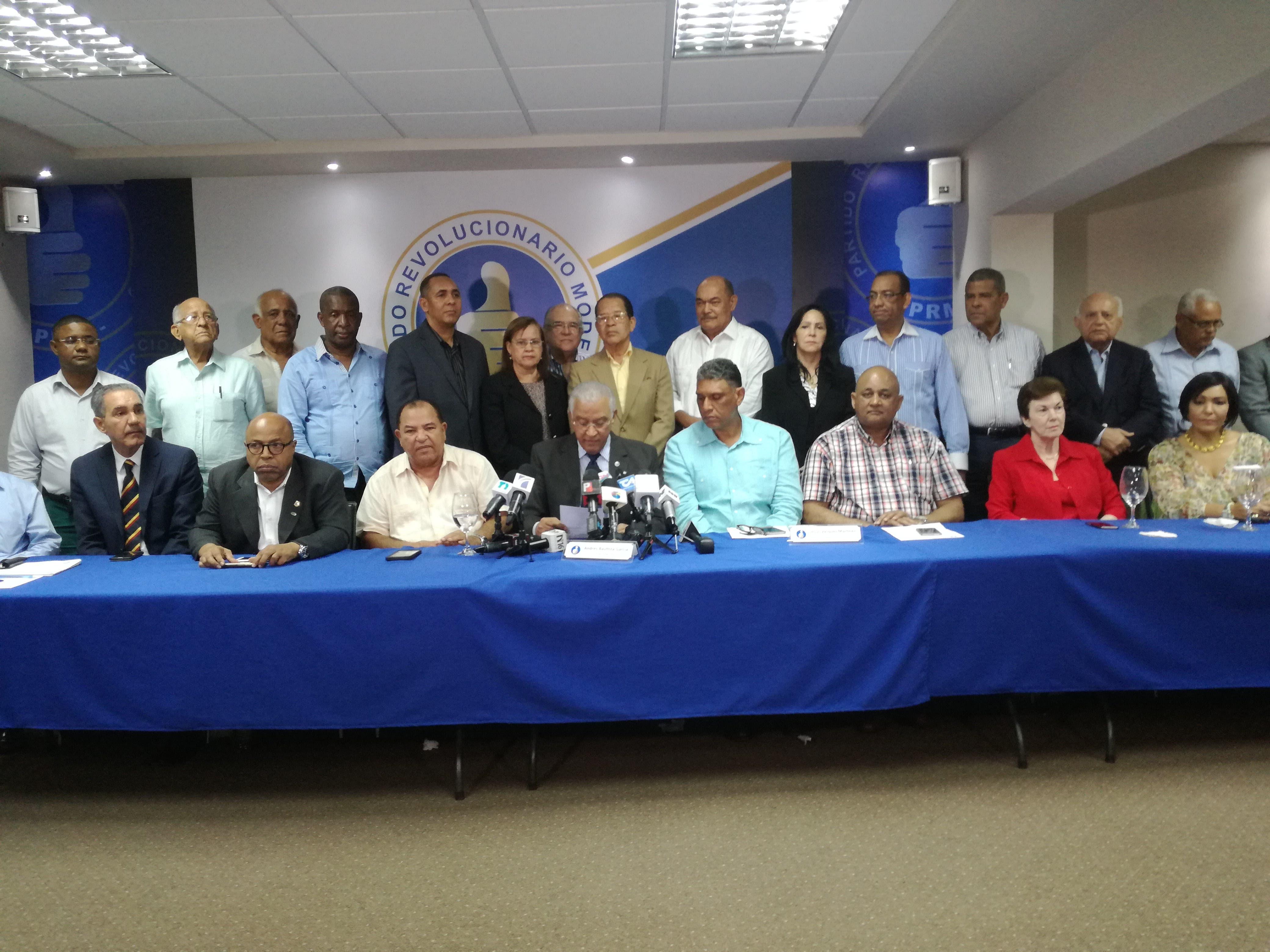 PRM acusa al Gobierno de lanzar lista para vincular a sus dirigentes a caso Odebrecht