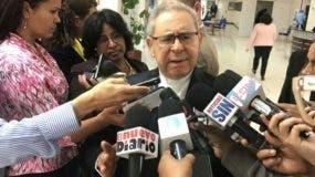 Núñez Collado indicó que recibió una invitación de los congresistas. Foto: Degnis De León.