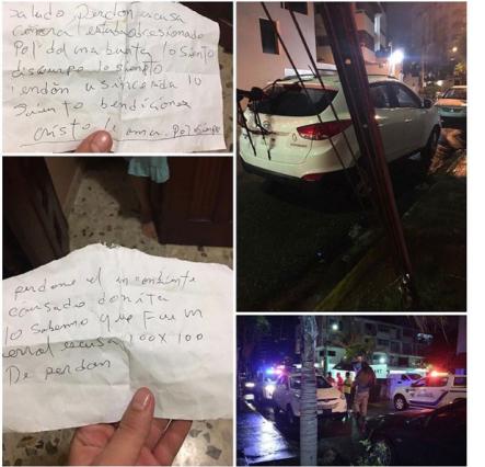 Desconocidos despojan de vehículo a una señora en parqueo de su casa
