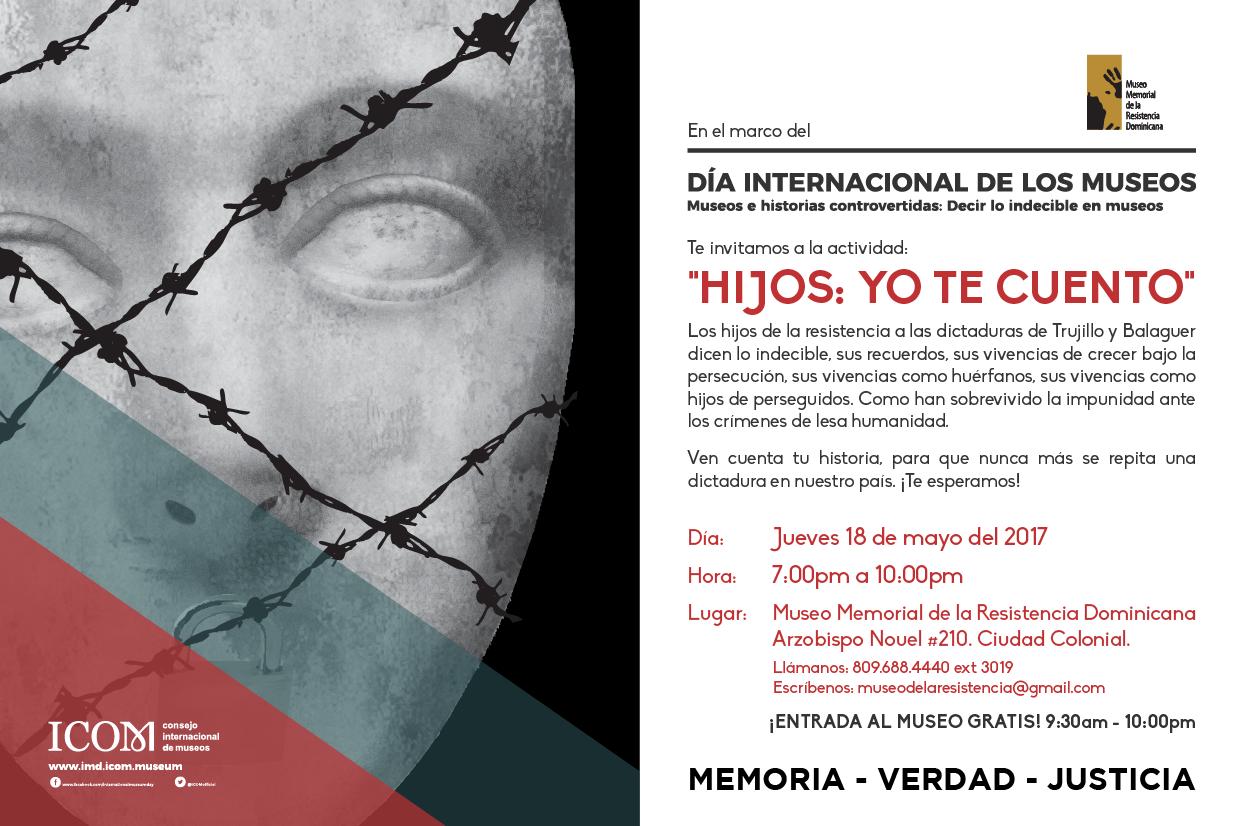 Hijos de víctimas de la dictadura ofrecerán sus testimonios en Museo ...