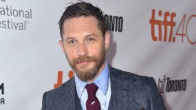 "TORONTO, ON - SEPTEMBER 12:  Actor Tom Hardy attends the ""Legend"" premiere during the 2015 Toronto International Film Festival at Roy Thomson Hall on September 12, 2015 in Toronto, Canada.  (Photo by Alberto E. Rodriguez/Getty Images)"