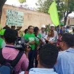 Los representantes de Marcha Verde hablaron en rueda de prensa.