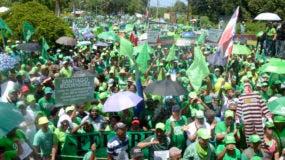 este domingo realizarán una marcha verde. Foto: Elieser Tapia.
