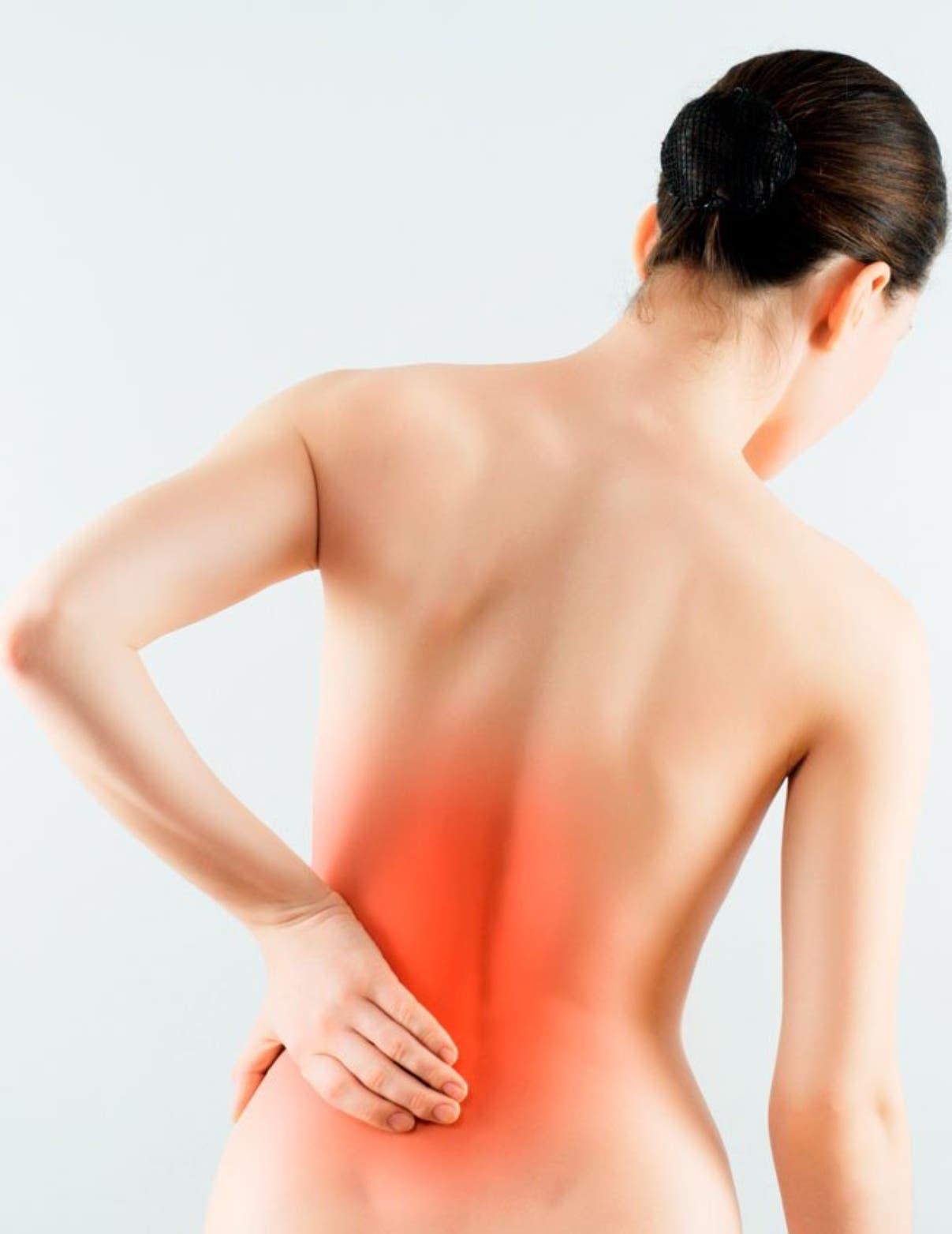 ¡Cuidado con el dolor de espalda; representa el 15% de las licencias médicas!