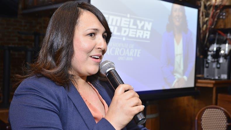 Emelyn Baldera, presidenta electa de Acroarte.