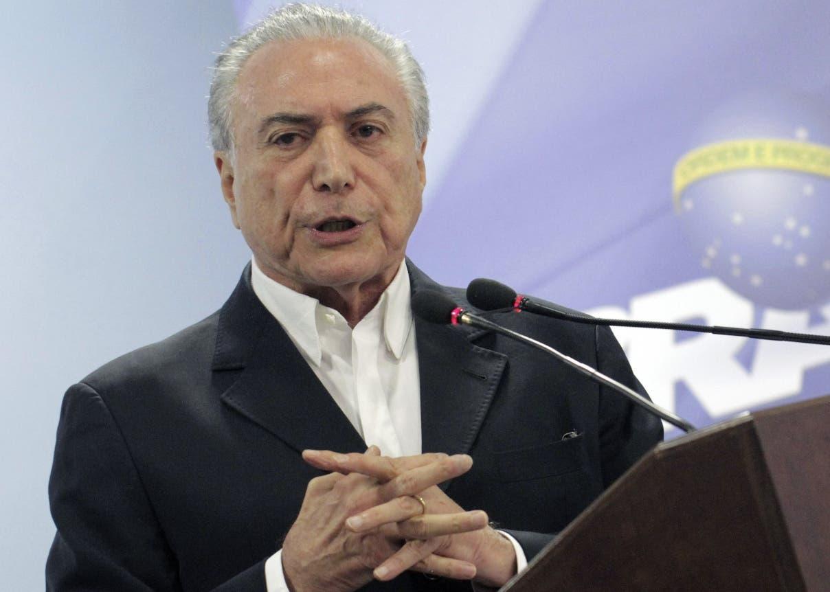 Mercosur recibirá a Venezuela de vuelta «de brazos abiertos», afirma Temer