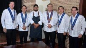 Luis Ros, Manuel Gómez, Saverio Stassi, Sergio Ottato, Manabo Yajima y Gustavo Gómez.